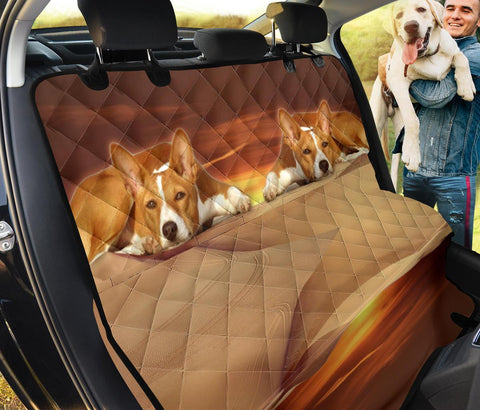 Basenji Dog Print Pet Seat Covers