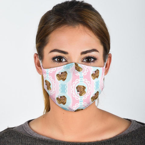 Dogue de Bordeaux Patterns Print Face Mask