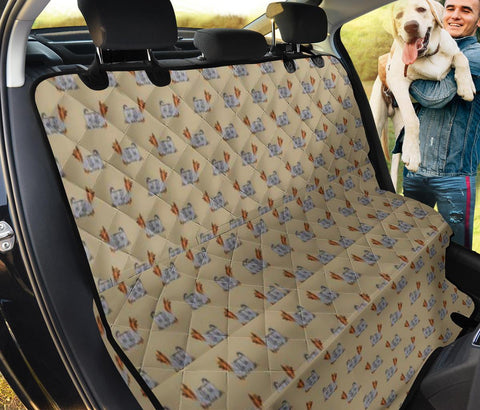 Silky Terrier Patterns Print Pet Seat Covers