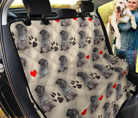 Cesky Terrier Print Pet Seat covers