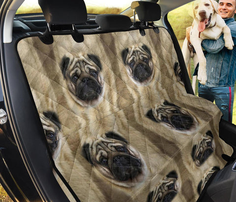 Pug Patterns Print Pet Seat covers