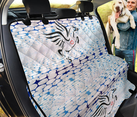 Percheron Horse Print Pet Seat Covers