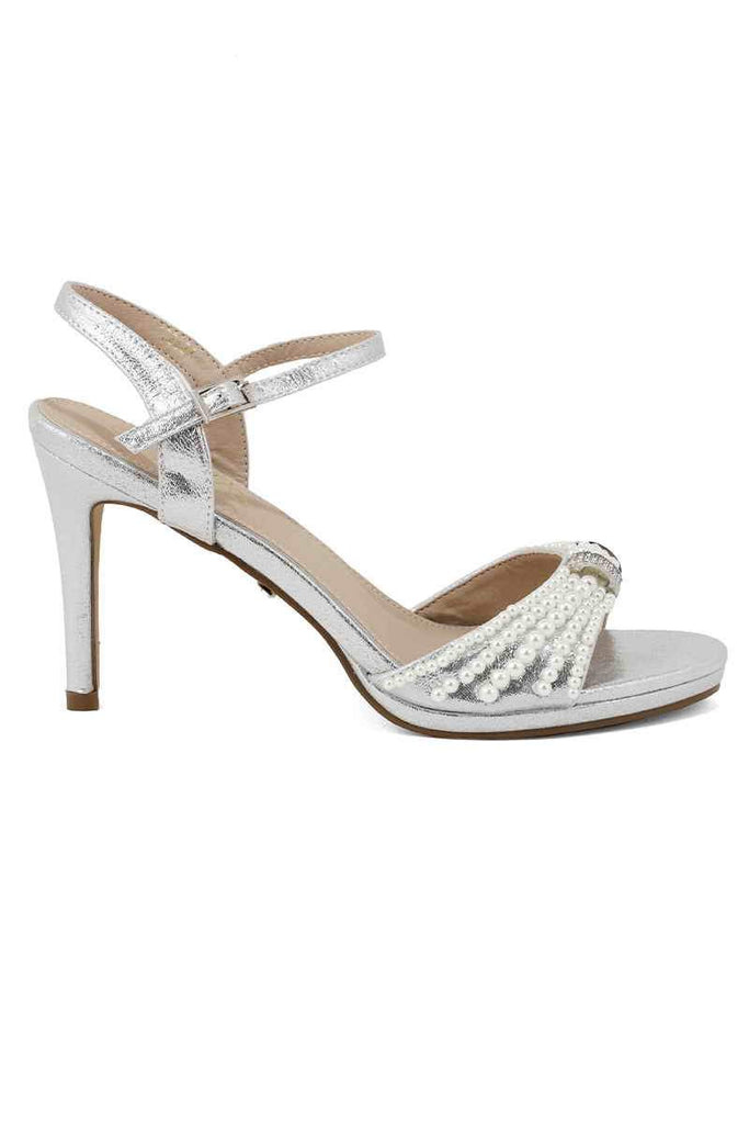 Fancy Sandal I23621-Silver