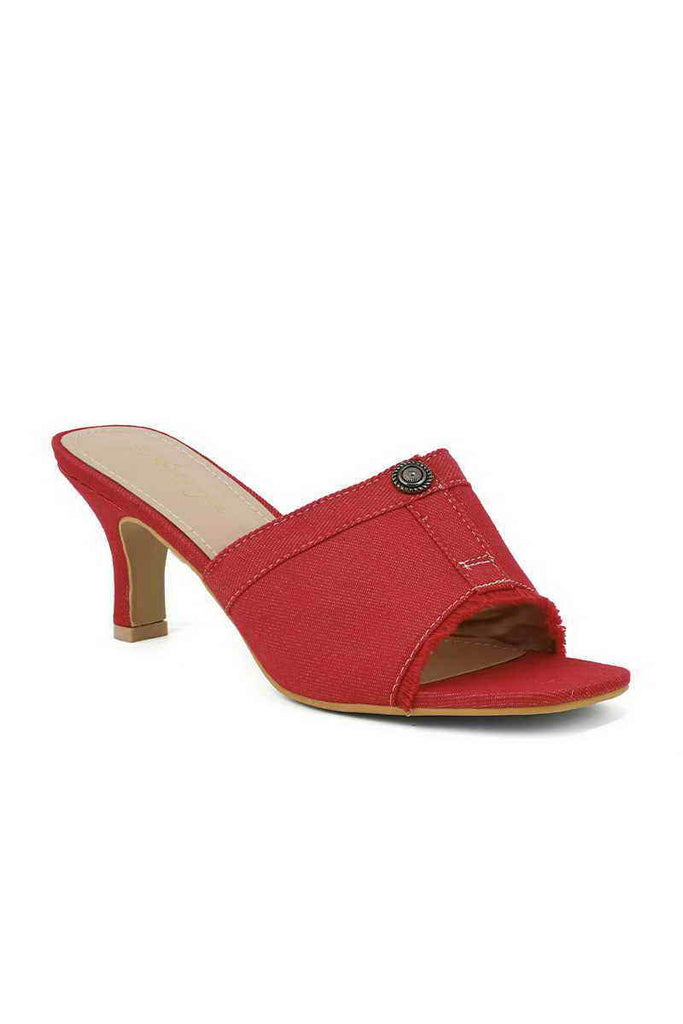 Formal Slipper I38319-Red