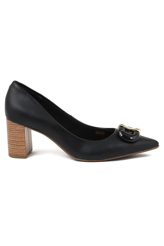 Casual Court Shoes I44315-Black