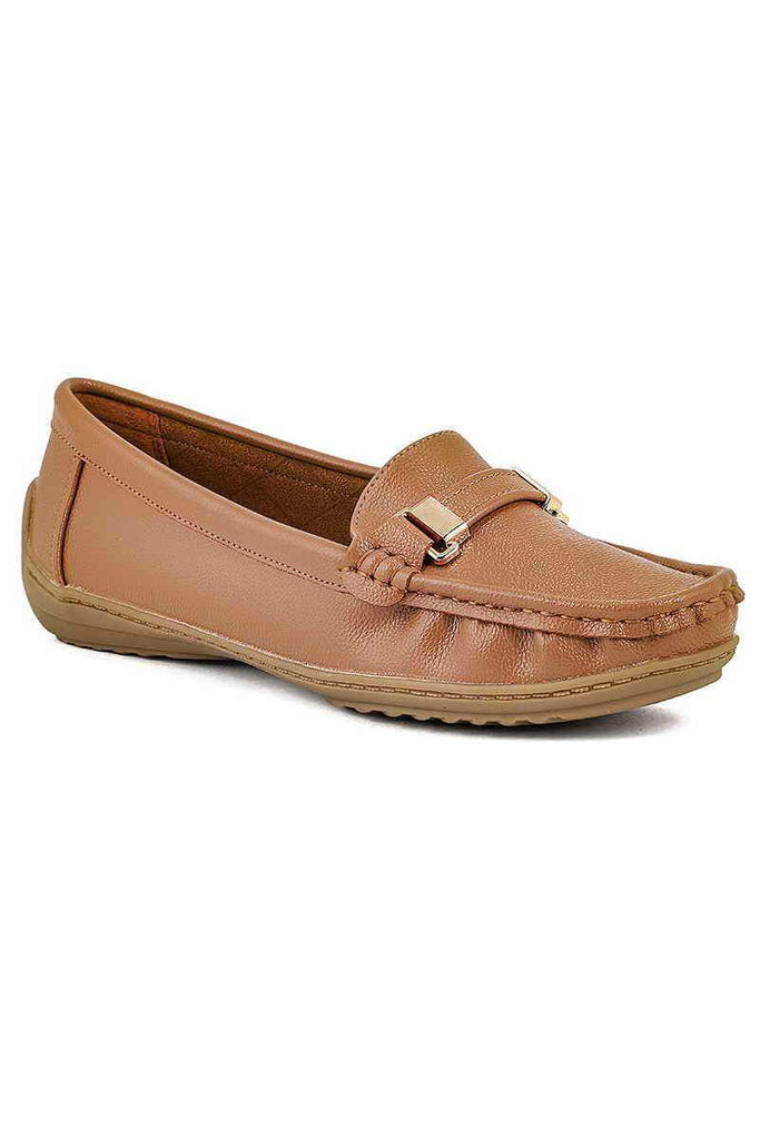 Close Casual Shoe/Moccs I60015-Brown