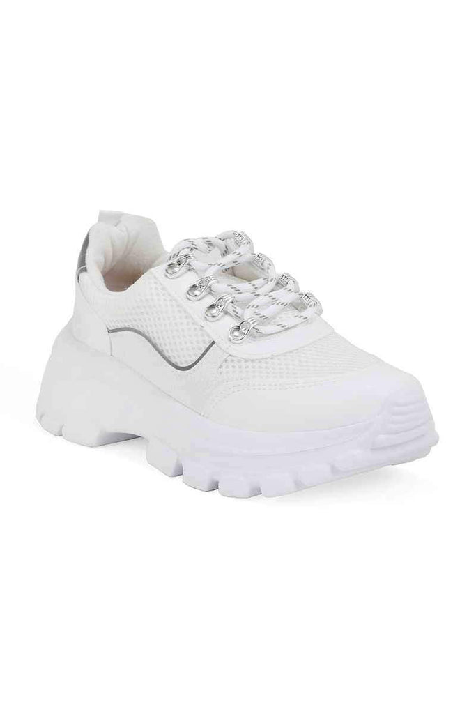 Casual Sneakers I90022-White