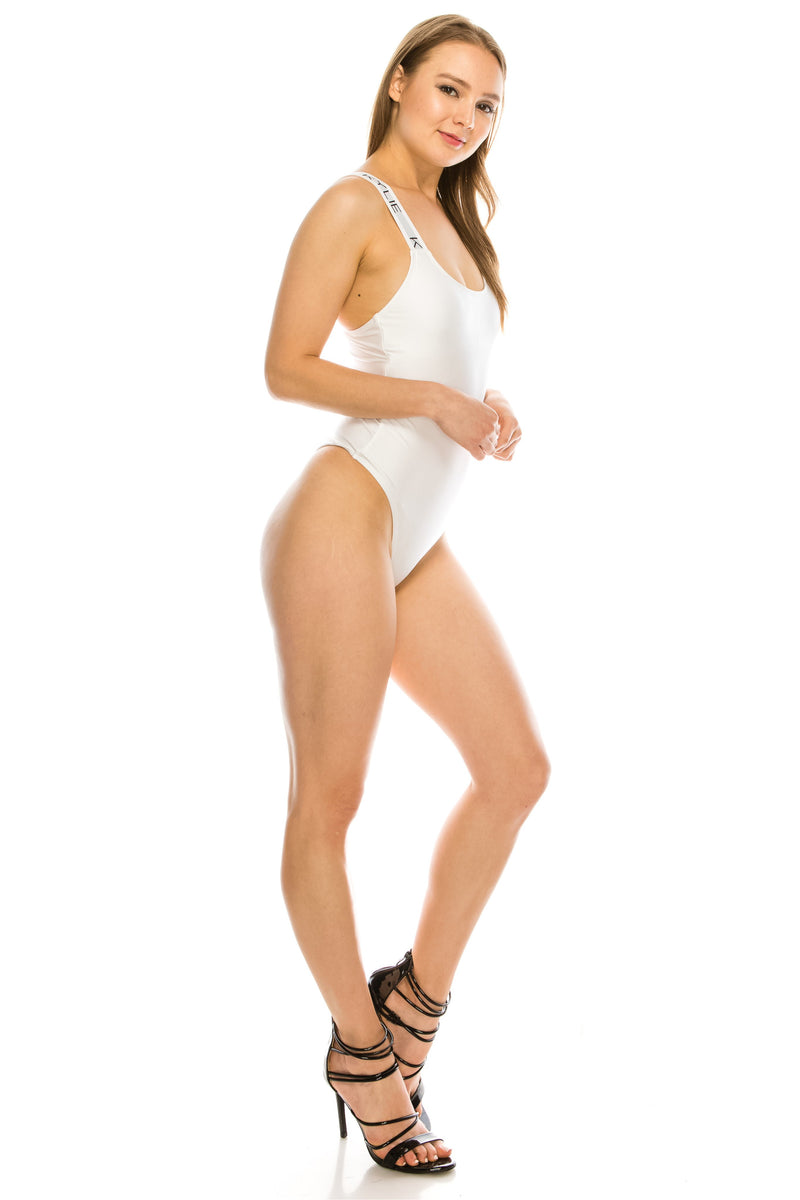 Kendall + Kylie Brand Band One Piece Swimsuit
