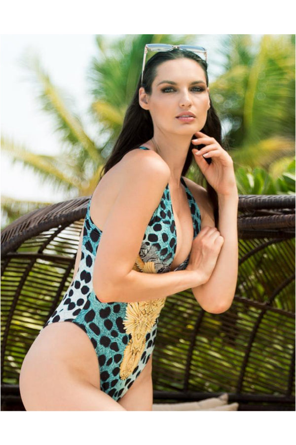 Lula Spandex One Piece Swimwear