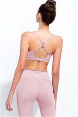 Track & Bliss Cloud Nine Bubble Gum Sports Bra