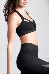 Skywalker Black Sports Bra