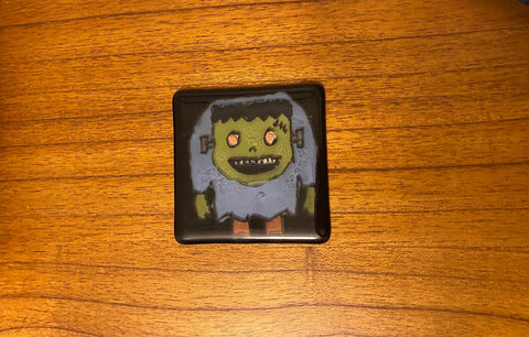 Frank - Fused Glass Coaster