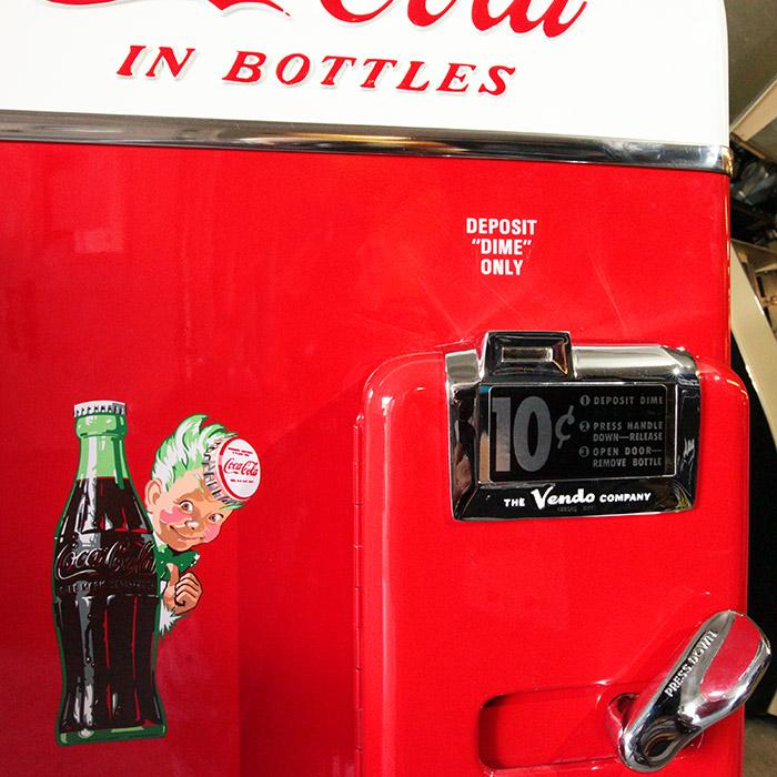 Classic Vending machines restored to their former glory
