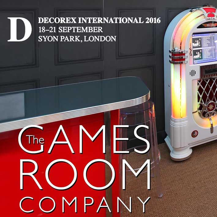 The Games Room Company at Decorex 2016 in Syon Park