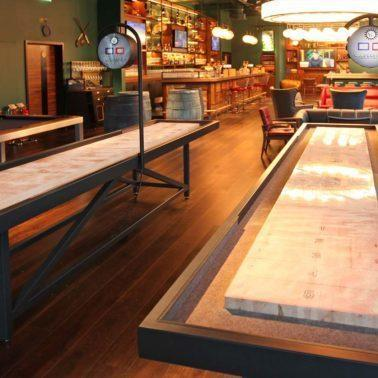 The Story Behind The Modern Shuffleboard Table