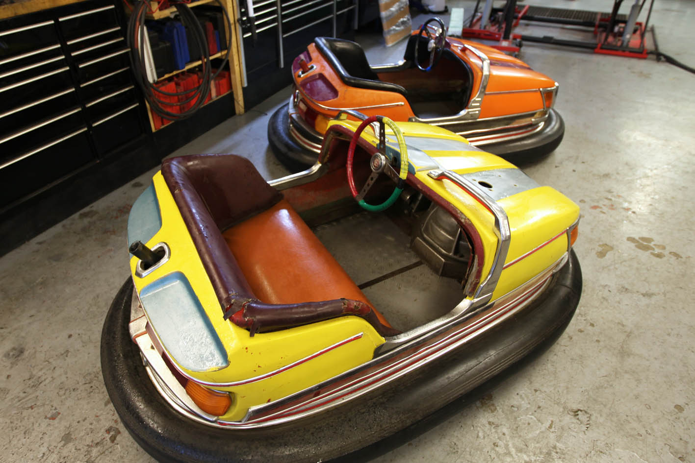 Gentlemen, Start Your Engines. It's Dodgems at dawn!
