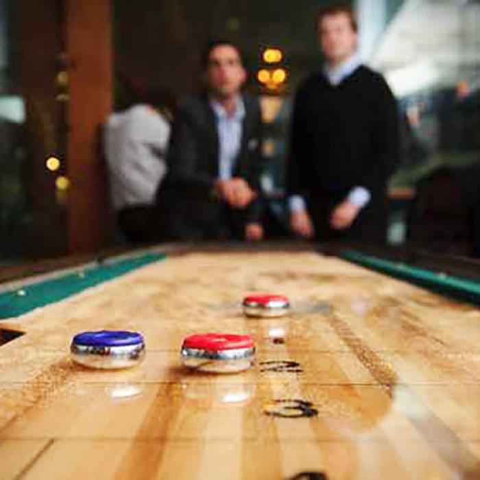 Get the edge on your opponent in shuffleboard games