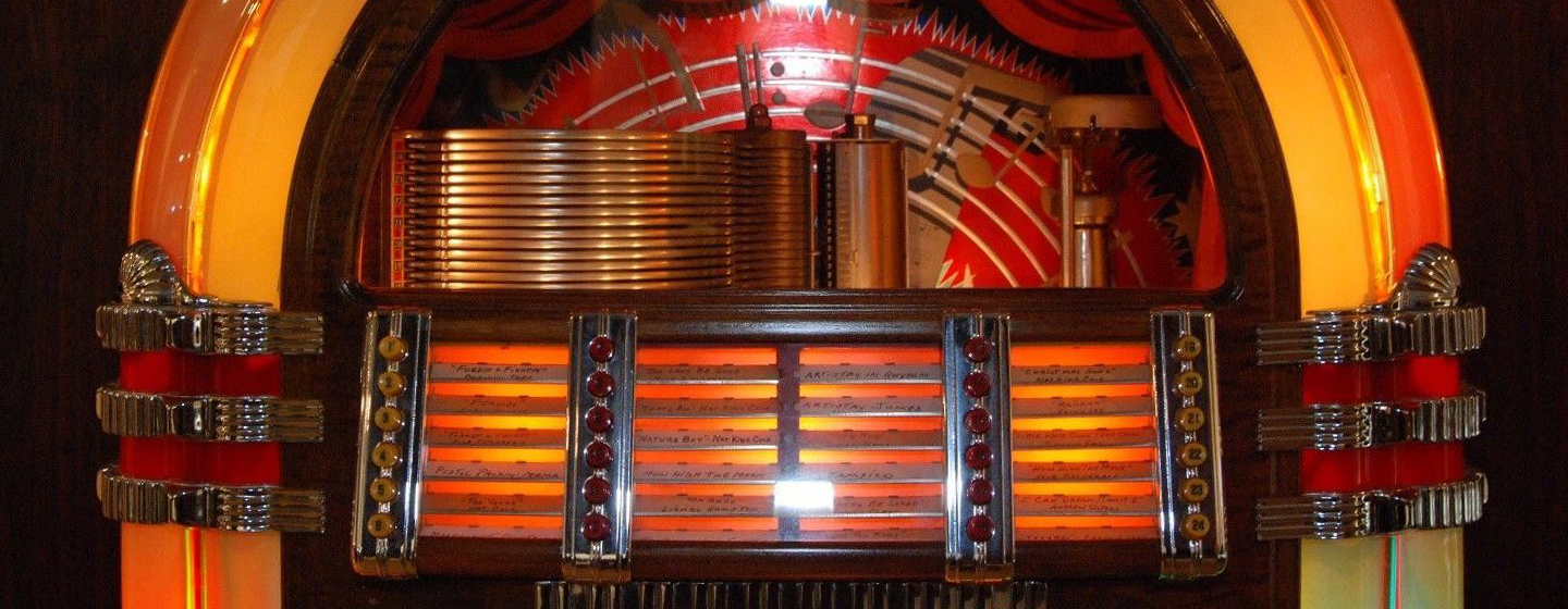 Reconditioned Vinyl & CD Jukeboxes