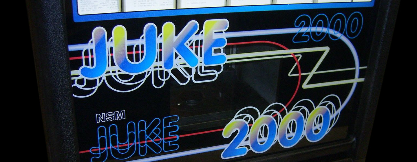 Wall Mounted Reconditioned Jukeboxes