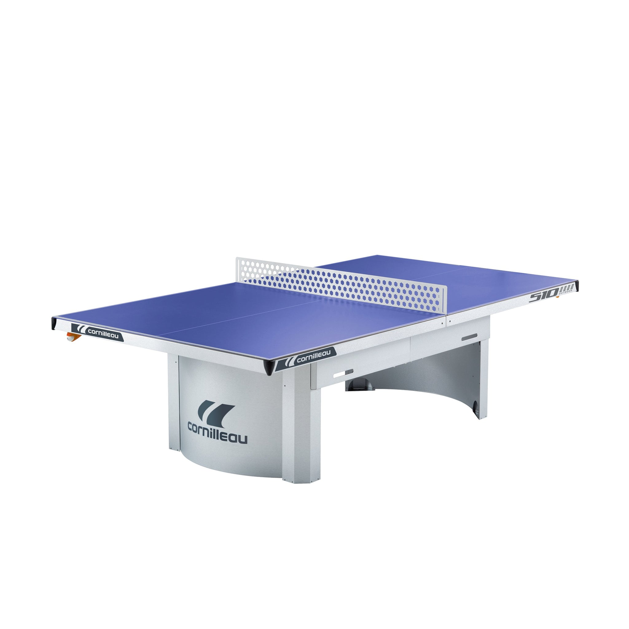 Cornilleau Pro 510m Outdoor Table Tennis Table in Blue