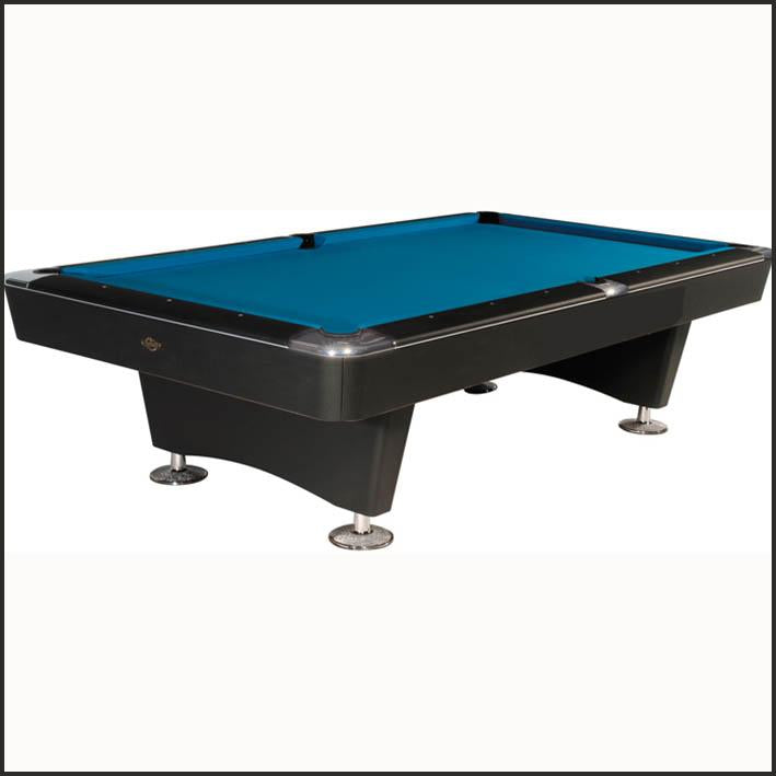 Dominator American Pool Table in Black or Walnut 8ft