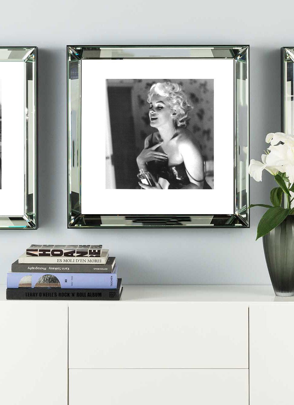 Marilyn Monroe Chanel No.5 Mirror Frame Picture