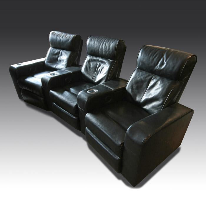 Premiere Leather Cinema Seat (3 seater)