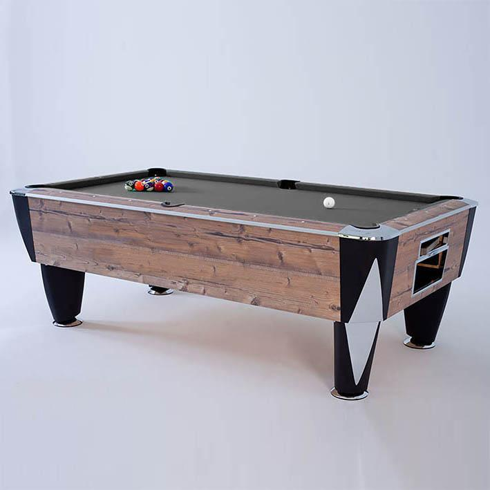 SAM Atlantic Champion English Pool Table (Country Oak)