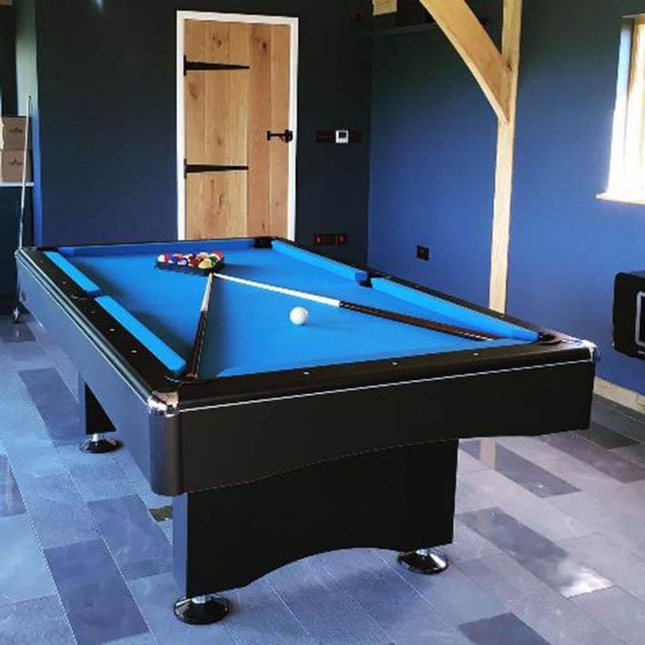 Eliminator II American Pool Table in black
