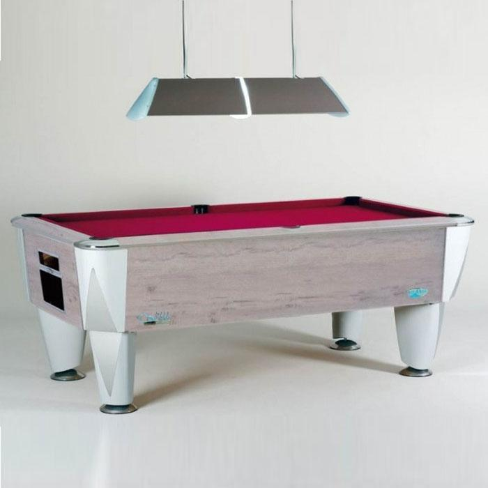 Sam Leisure Atlantic Champion English Pool Table Polar Oak 6ft, 7ft