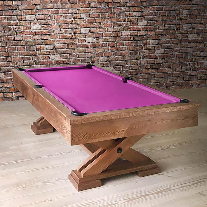 'Number Ten' Bespoke Pool Table by Waldersmith