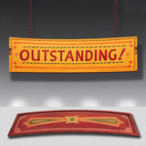 Outstanding 1930s Vintage Fairground Sign