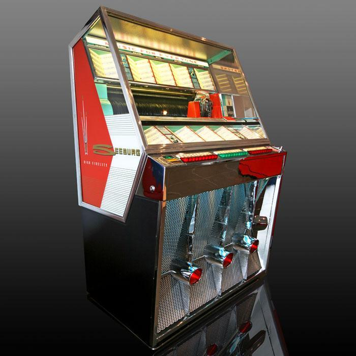 Seeburg 201 Vinyl Jukebox 'Coming Soon'