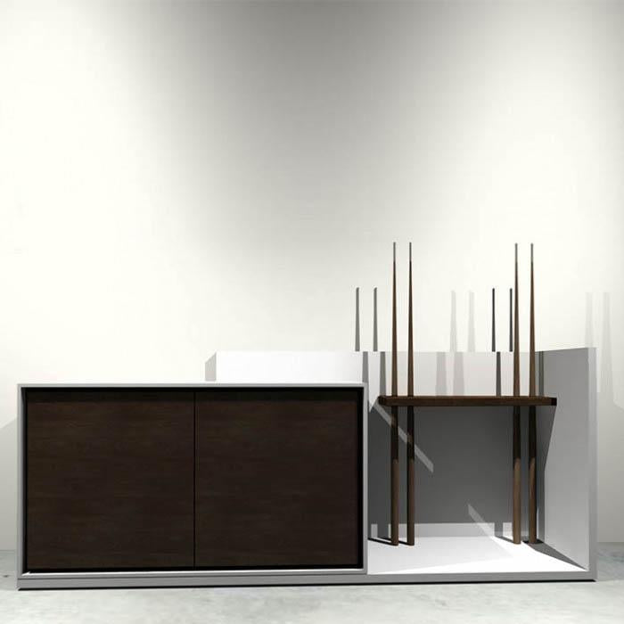 Fusion Sideboard for use with Pool Diner