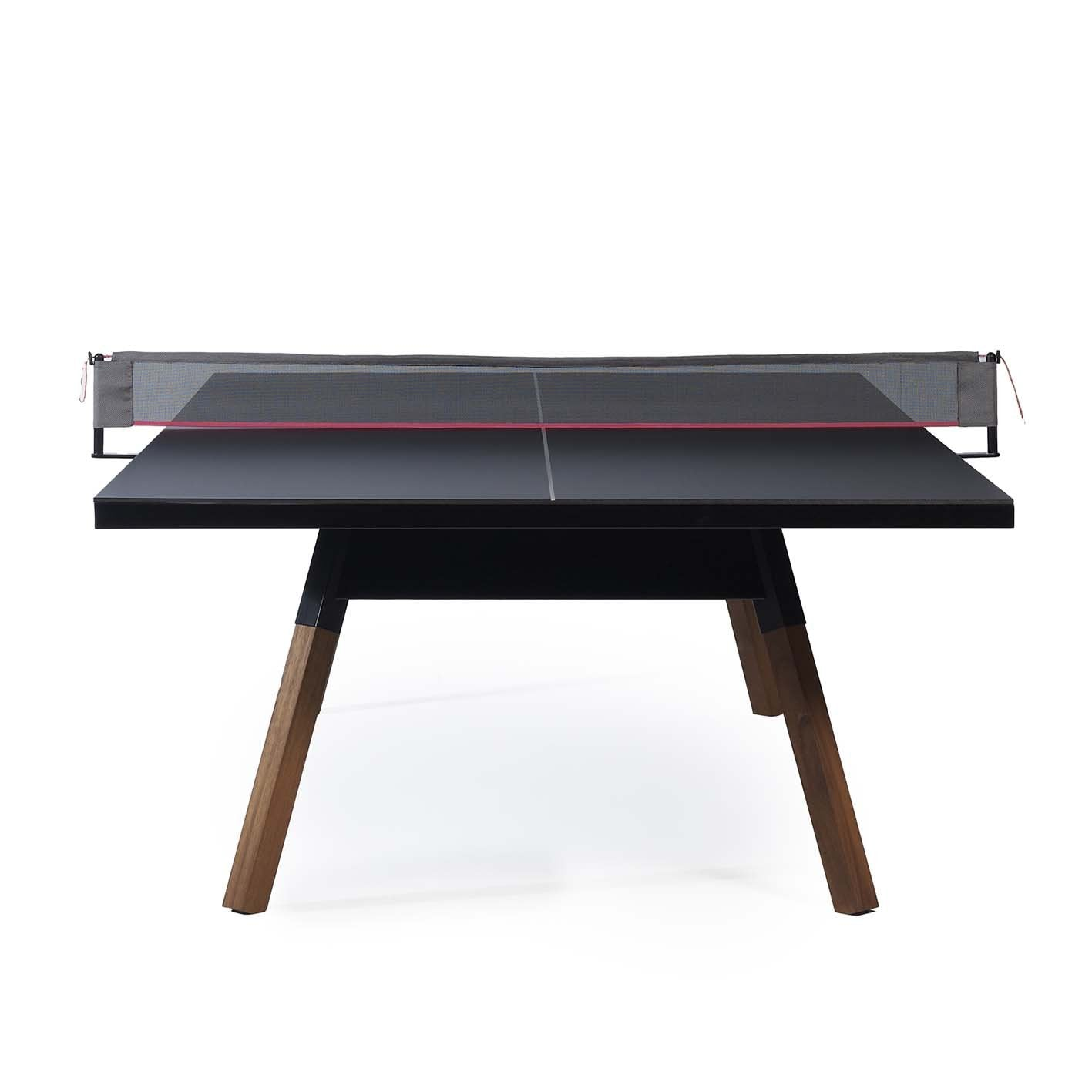 You & Me Table tennis table black