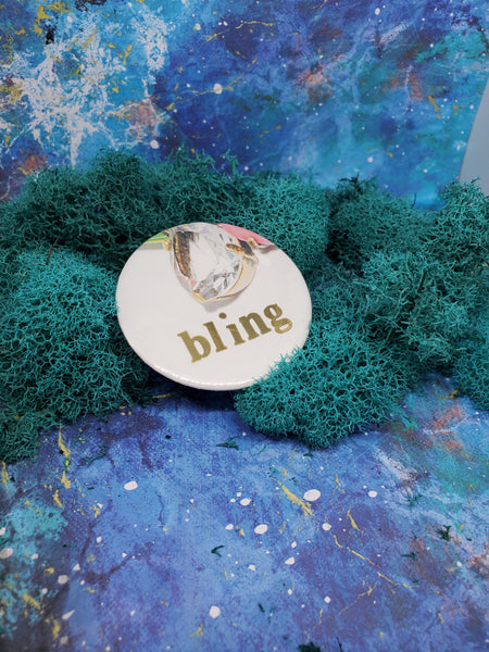 Handmade Art Pins : Bling Empire Collection
