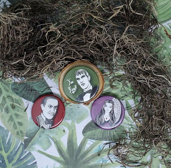 Creepy Christine Pins: Addams Family Collection