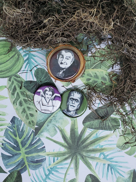 Creepy Christine Pins: The Munsters Family Collection