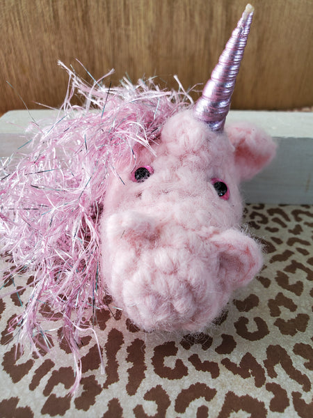Love is kind, One of Kind Unicorns From Knitted and Twisted