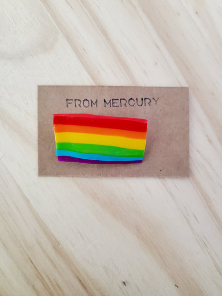 Rainbow Pride Flag Pins