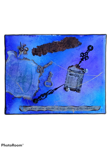 Steam Punk Resin Art
