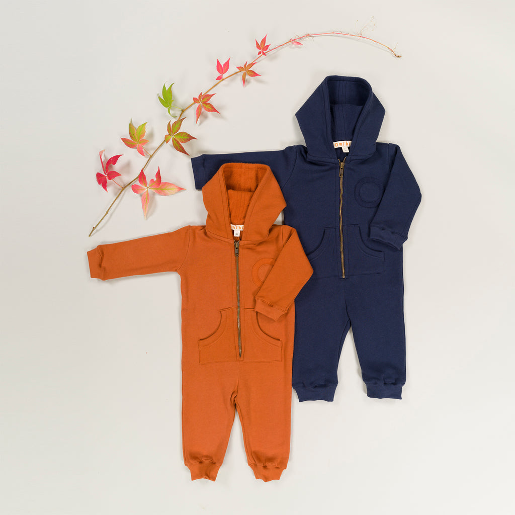 TAFFEL Baby Onesie Orange