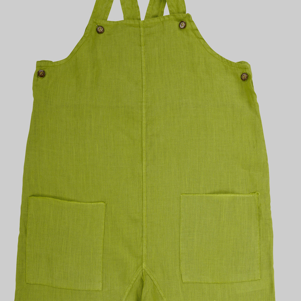 ALAMO Dungarees Child - Apple Green