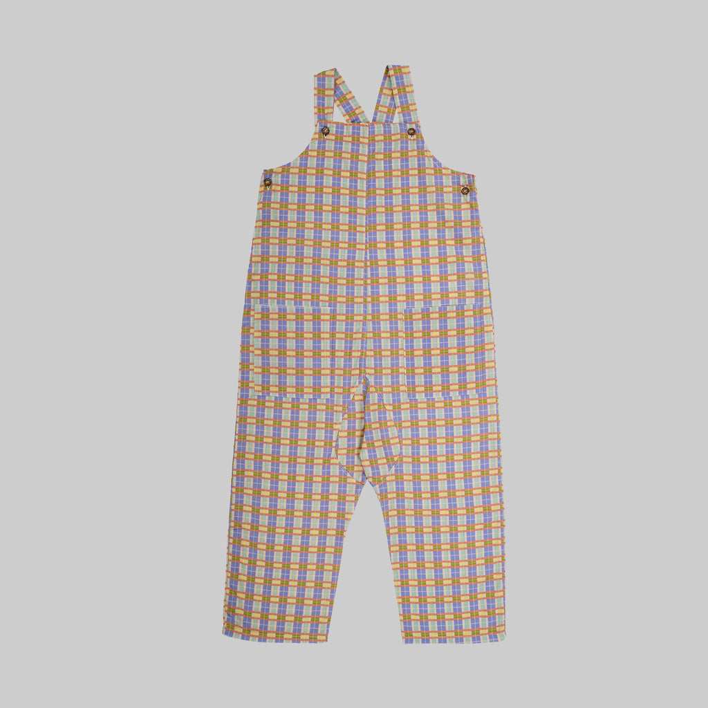 ALAMO Dungarees Child - Check - Rainbow