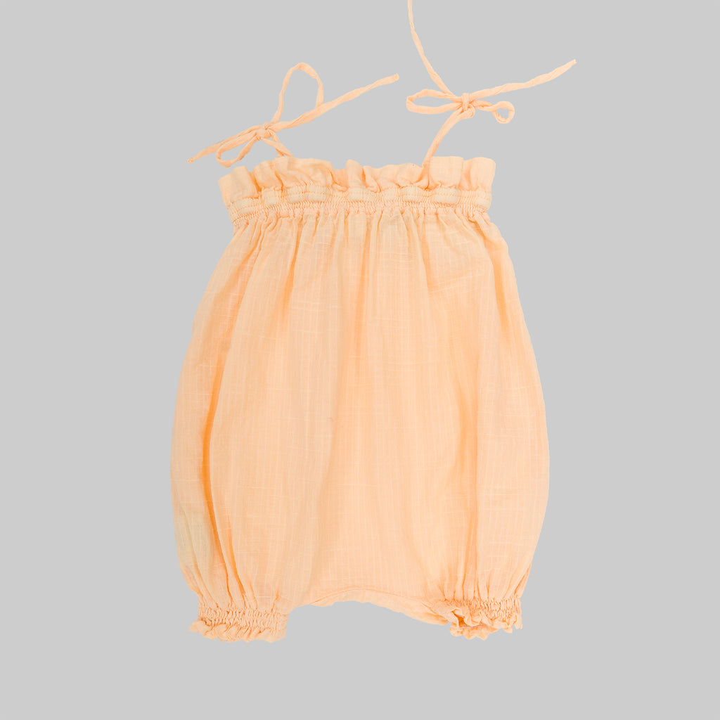 AUDY Romper Baby Cantalupe