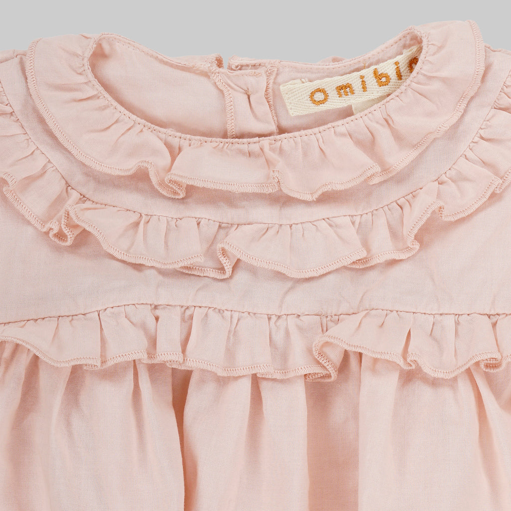 CAMILLA Dress Baby - Pale Rose