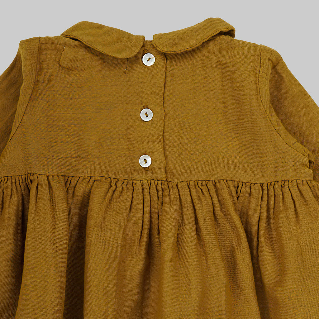 CARLOTTA Dress Baby Saffron
