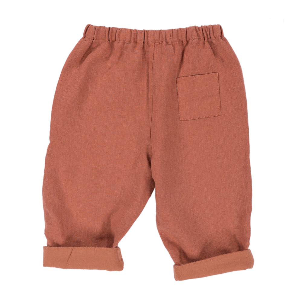 CASPAR Trousers Baby  Orange