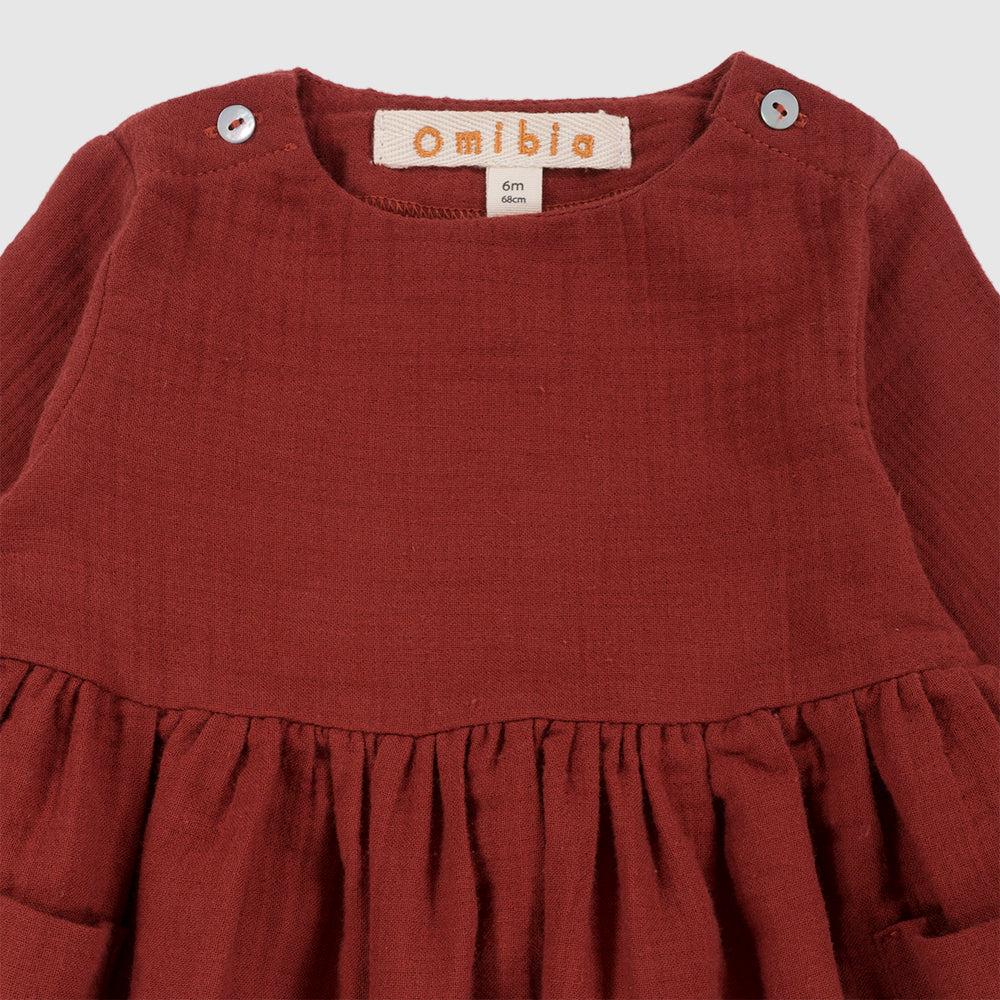 CASSIMA Dress Burgundy Baby