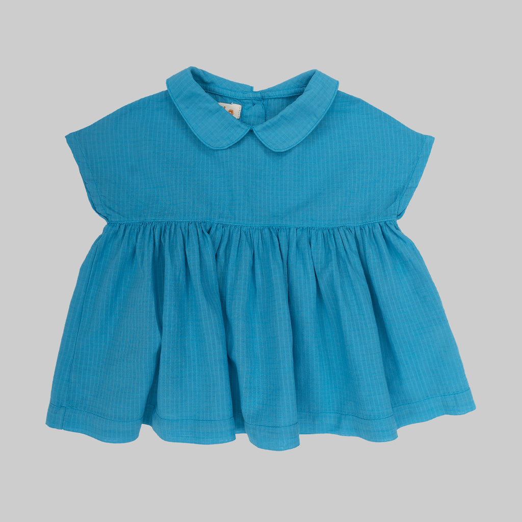 CLAVEL Dress Baby Capri Blue